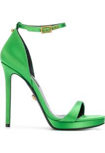 Versace Sandália Com Fivela - Verde
