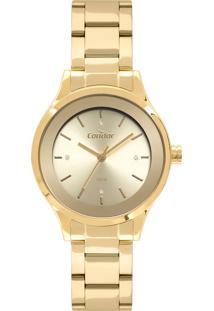 Relógio Condor Feminino Clássico Analógico Dourado Co2035Fbzk4D - Kanui