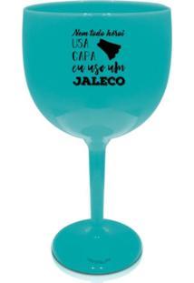 4 Taças Gin Azul Acrílico Personalizadas Salvar Vidas