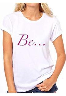 Camiseta Be Coolest Feminina - Feminino-Branco