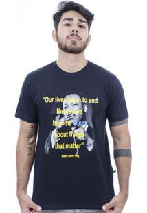 Camiseta Hardivision Martin Manga Curta - Masculino-Preto