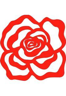 Escultura De Parede 11718 Vermelho 60X60 Art Shop