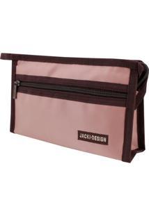 Necessaire Envelope Tam. P Lisa Jacki Design Essencial Iii Rosa