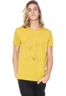 Camiseta Hang Loose Coral Bay Amarela