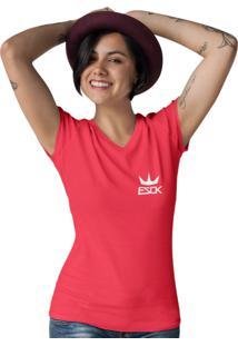 Camiseta Ezok Gola V King Vermelho