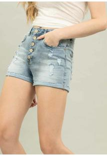 Shorts Jeans Califórnia Jeans - Lez A Lez