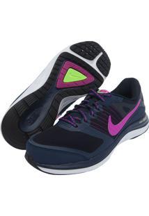 Tênis Nike Wmns Dual Fusion X Msl Azul Marinho
