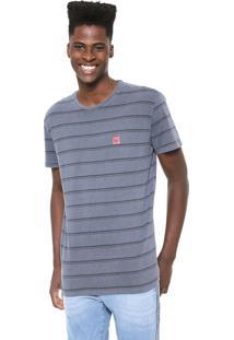 Camiseta Hang Loose Stripe Cinza/Grafite
