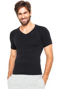 Camiseta Lupo Compressão Preta