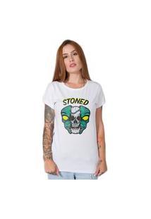 Camiseta Alien Stoned Branca