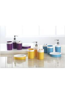Conjunto Para Banheiro Le Color Com 4 Peças