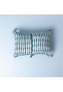 Capa De Almofada Mira Cor: Azul - Tamanho: Único