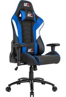 Cadeira Gamer Dt3Sports 10634-4 Elise Reclinável Preta E Azul