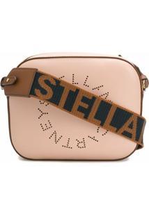 Stella Mccartney Bolsa Estruturada Stella Logo Mini - Rosa