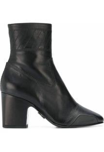Off-White Ankle Boot Owia - Preto