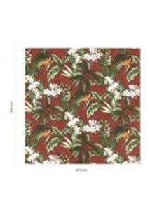 Tecido Acquablock Karsten Impermeavel Floralis Terracota
