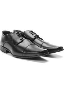 Sapato Social Wakalbout Básico Masculino - Masculino-Preto