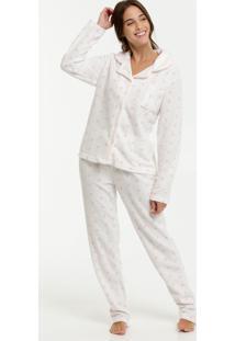 Pijama Feminino Soft Estampa Bolinhas Marisa