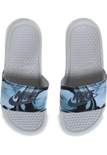 "Chinelo Nike Benassi ""Just Do It"" Print Feminino"