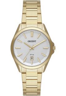Relógio Orient Eternal Feminino Analógico Fgss1203 Dourado