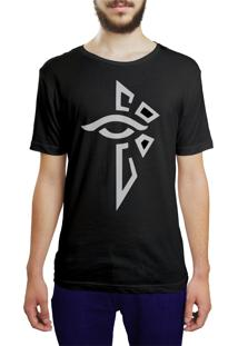 Camiseta Hunter Iluminado Preta
