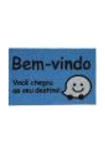 Capacho Vinil Super Print Você Chegou 0,40X0,60M - Kapazi