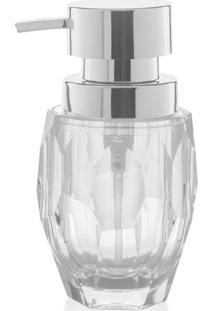 Porta Sabonete Liquido Ou Diamond Acrílico 300Ml - 28930
