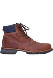 Bota Masculina Work Boots Jackson - Marrom