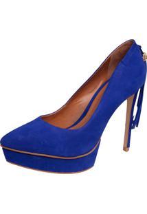 Scarpin Colcci Azul