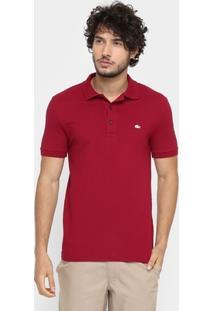 Camisa Polo Lacoste Piquet Slim - Masculino
