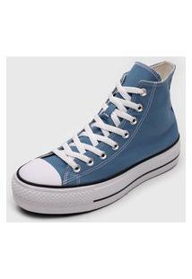 Tênis Converse Chuck Taylor All Star Lift Azul