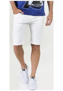 Bermuda Masculina Sarja Stretch Five Jeans