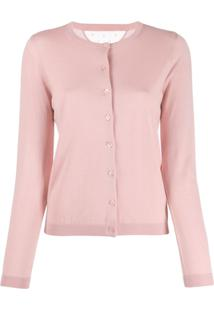 Red Valentino Lightweight Knitted Cardigan - Rosa