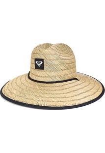 Chapéu De Palha Roxy Tomboy 2 Feminino - Feminino-Palha