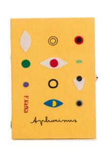 Olympia Le-Tan Clutch Aphorisms - Amarelo