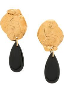 Alighieri Shadow Of The Woman Earrings - Dourado