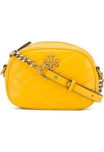 Tory Burch Quilted Crossbody Bag - Amarelo