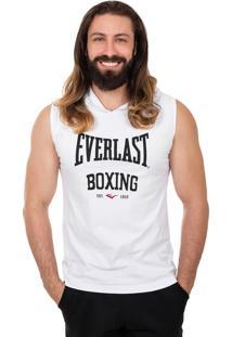 Camiseta Everlast Algodão Mescla Branco
