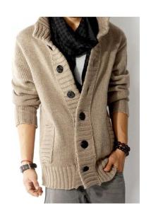 Casaco De Lã Masculino Overland - Khaki