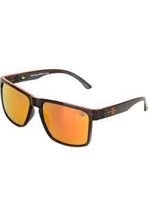 Óculos De Sol Mormaii Monterey Fumê Translucido Lara Masculino - Masculino-Preto