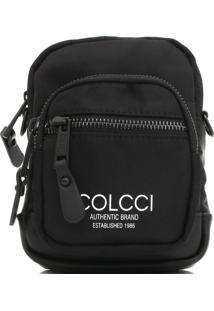 Bolsa Colcci Logo Preta
