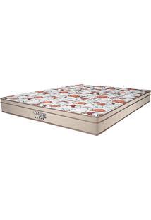 Colchão Queen Pillow Top Prodormir Vegas Mel - Probel - Palha / Marrom
