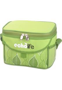 Bolsa Térmica Green 5 Litros Com Alça Ajustável - Echolife Verde