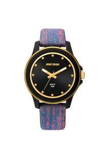 Relógio Mormaii Analógico Luau Mo2035Hz8A Preto