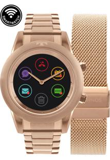 Relógio Technos Smartwatch Rosa Redondo - P01Ae/4P