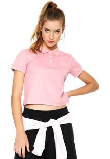 Camisa Polo Puma Fenty Rosa