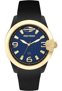 Relógio Mormaii Analógico Mo2035Iu-8A Feminino - Feminino-Preto+Azul