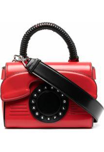 Karl Lagerfeld Bolsa Tote Ikon Telephone - Vermelho