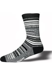 Meia Casual Listras Phante Socks - Masculino