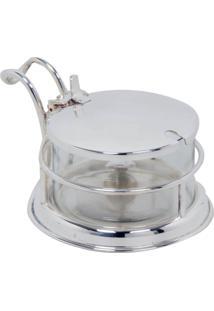 Manteigueira Banho De Prata Buhler